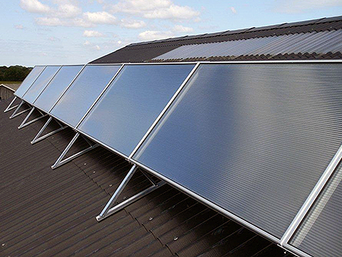 SolarVenti Solar heating and cooling