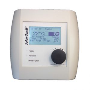 SolarVenti SControl regulator for air collectors