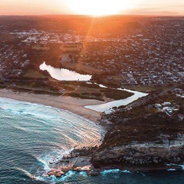 Sunny Australia Coastline